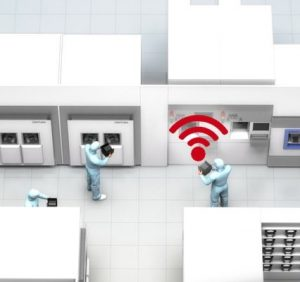 Identification & localization in cleanrooms