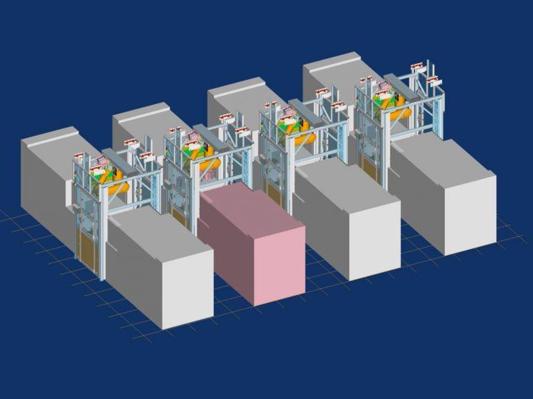 Roboter Cluster