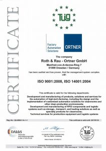 Certificate ISO9001_14001