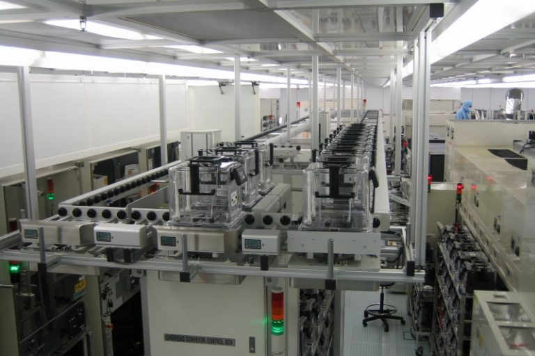 Zfs Conveyor Fabmatics Semiconductor Manufacturing