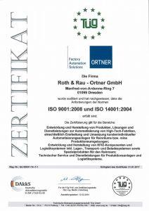 Zertifikat ISO9001_14001