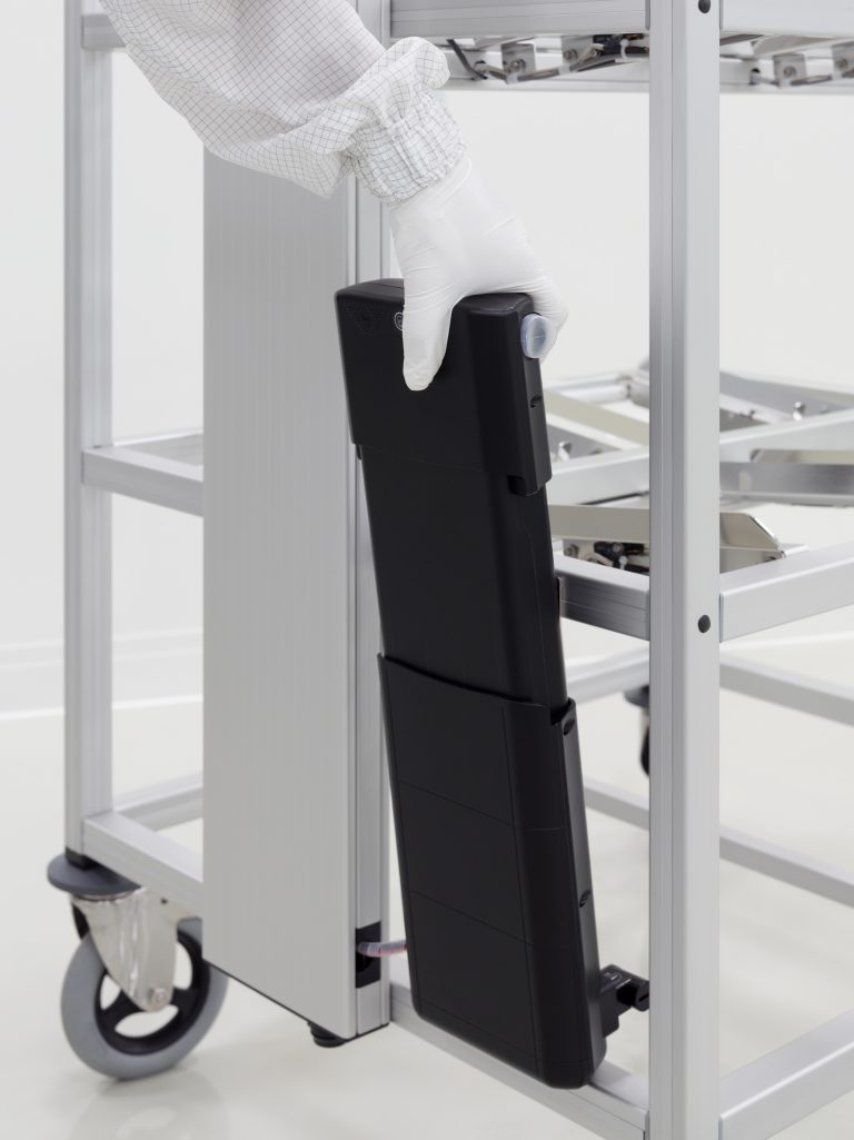 RFID trolley battery pack