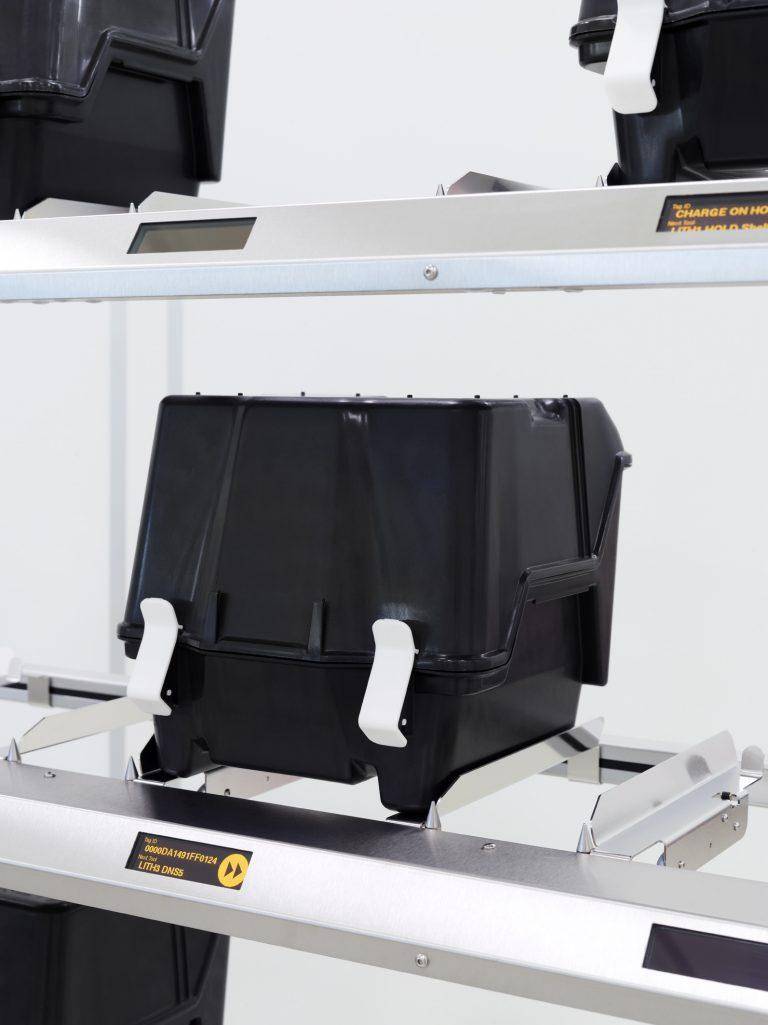 RFID Regal Lagerplatz mit Carrier