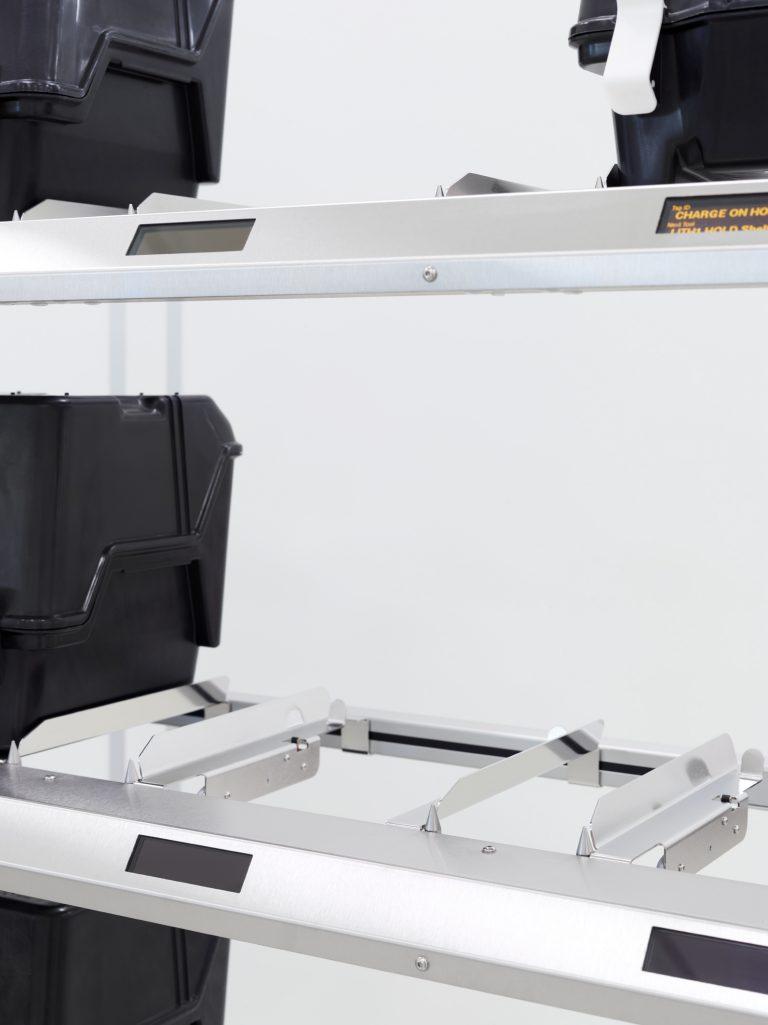 RFID Regal: Lagerplatz