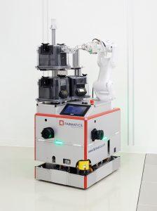 Mobiler Roboter HERO FAB SMIF Pod