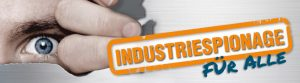 Logo der Dresdener Industrietage 2018 mit dem Motto Industriespionage
