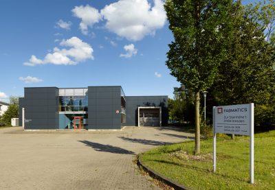 Eingangsgebäude Fabmatics GmbH