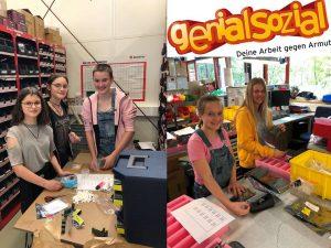 Schülerinnen bei Fabmatics GmbH