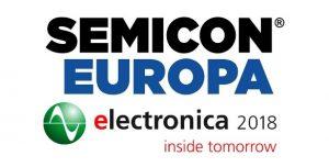 Semicon Europa und electronica 2018