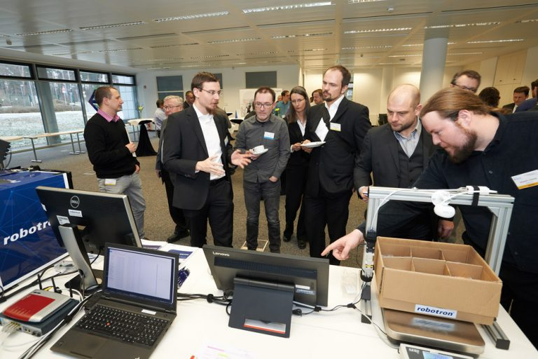 Ausstellung des 16th Innovation Forum for Automation