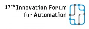 Logo of the 17th Innovation Forum for automation 2020, organized by the Automation Network Dresden (AIS, Systema, Xenon and Fabmatics).