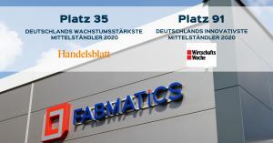 Automatisierungsspezialist Fabmatics überzeugt in zwei deutschlandweiten Rankings